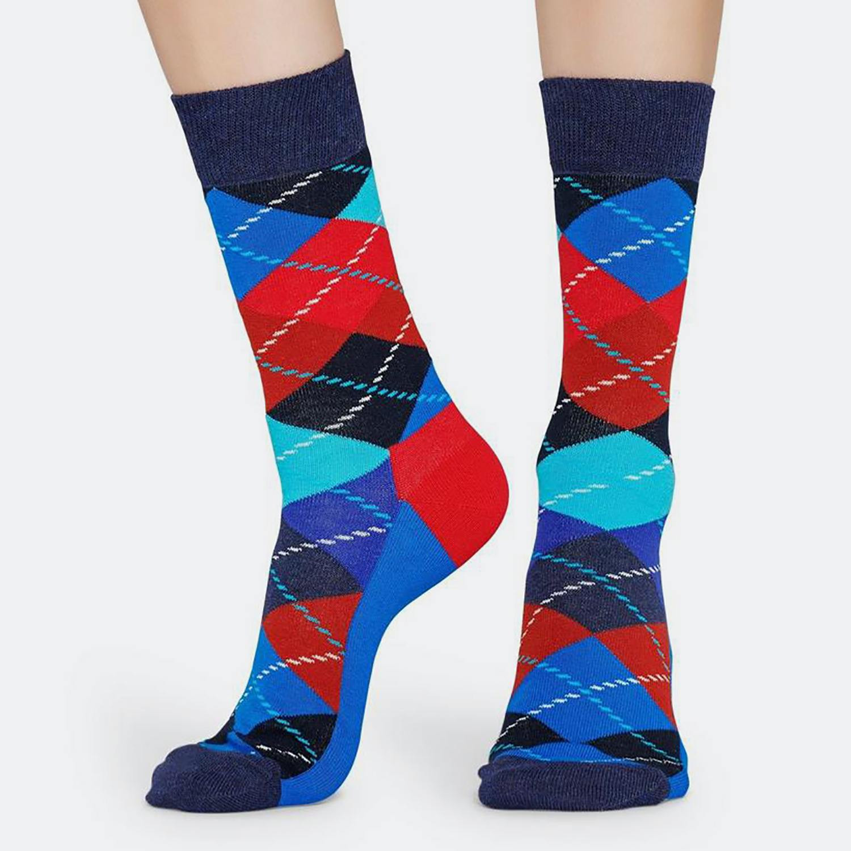 Happy Socks Argyle Sock - Ανδρικές Κάλτσες (9000031275_9688)