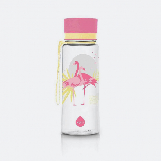 Equa Bottles Flamingo 600Ml 21,8 X 7,5 X 7,5Cm