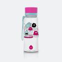 Equa Bottles Pink Monsters 400Ml 19 X 6,2 X 6,2Cm