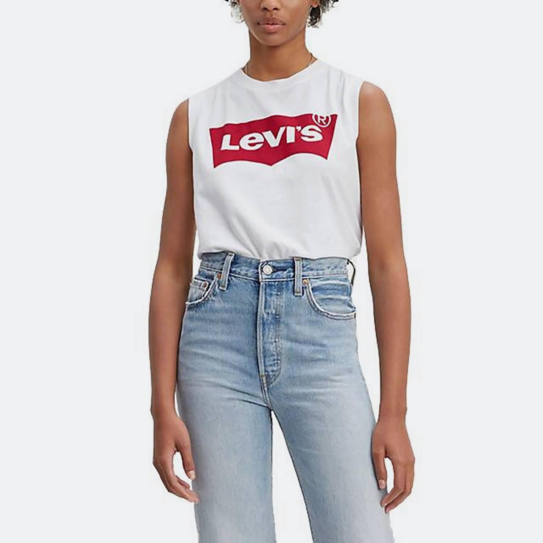 Levi's® Logo Tank Top - Γυναικείο Μπλουζάκι (9000026706_26106)