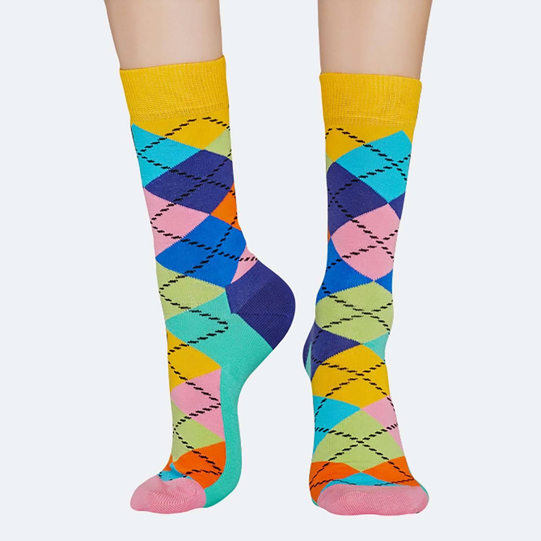 Happy Socks Argyle Sock - Γυναικείες Κάλτσες (9000031273_9688)
