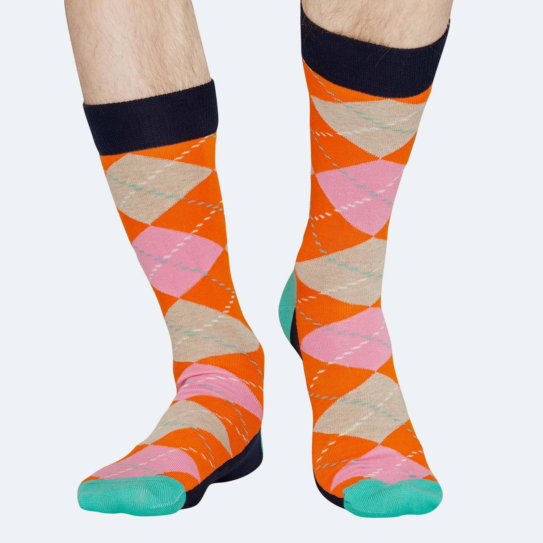 Happy Socks Argyle Sock - Γυναικείες Κάλτσες (9000031274_9688)