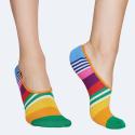 Happy Socks Multi Stripe Liner Unisex Socks