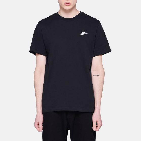 Nike Club Embroidered Tee - Ανδρικό Μπλουζάκι
