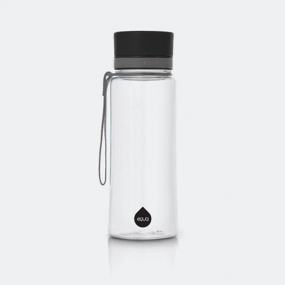 Equa Bottles Black 600Ml, 21,8X7,5X7,5Cm