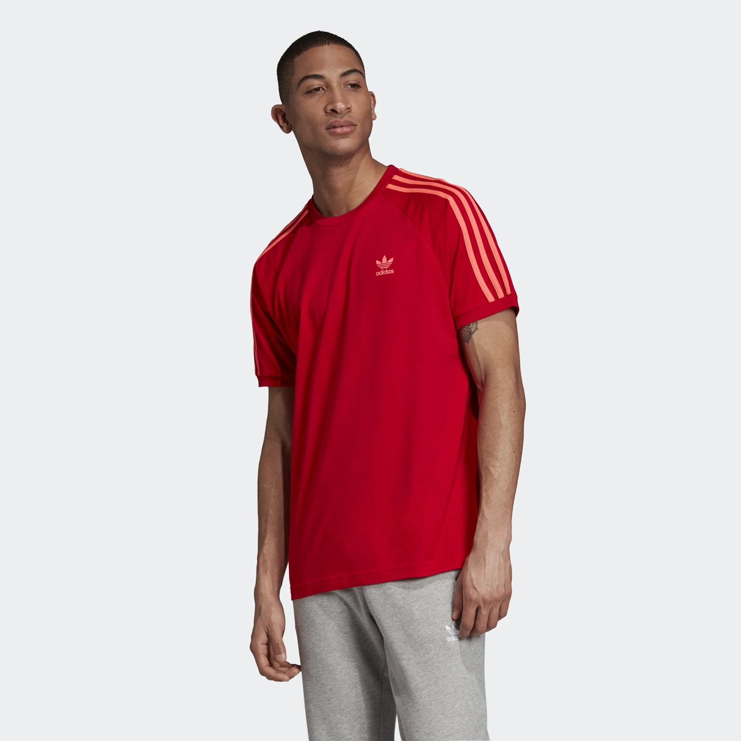 adidas Originals 3-Stripes Adicolor Tee - Ανδρικό Μπλουζάκι (9000031630_10260)