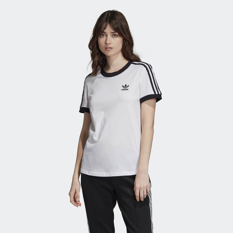 adidas Originals 3-Stripes Women's Tee - Γυναικείο Μπλουζάκι (9000031675_1539)