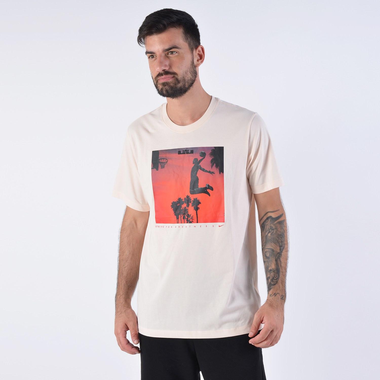Nike James Lebron Dri-FIT Tee - Ανδρική Μπλούζα (9000035621_34882)