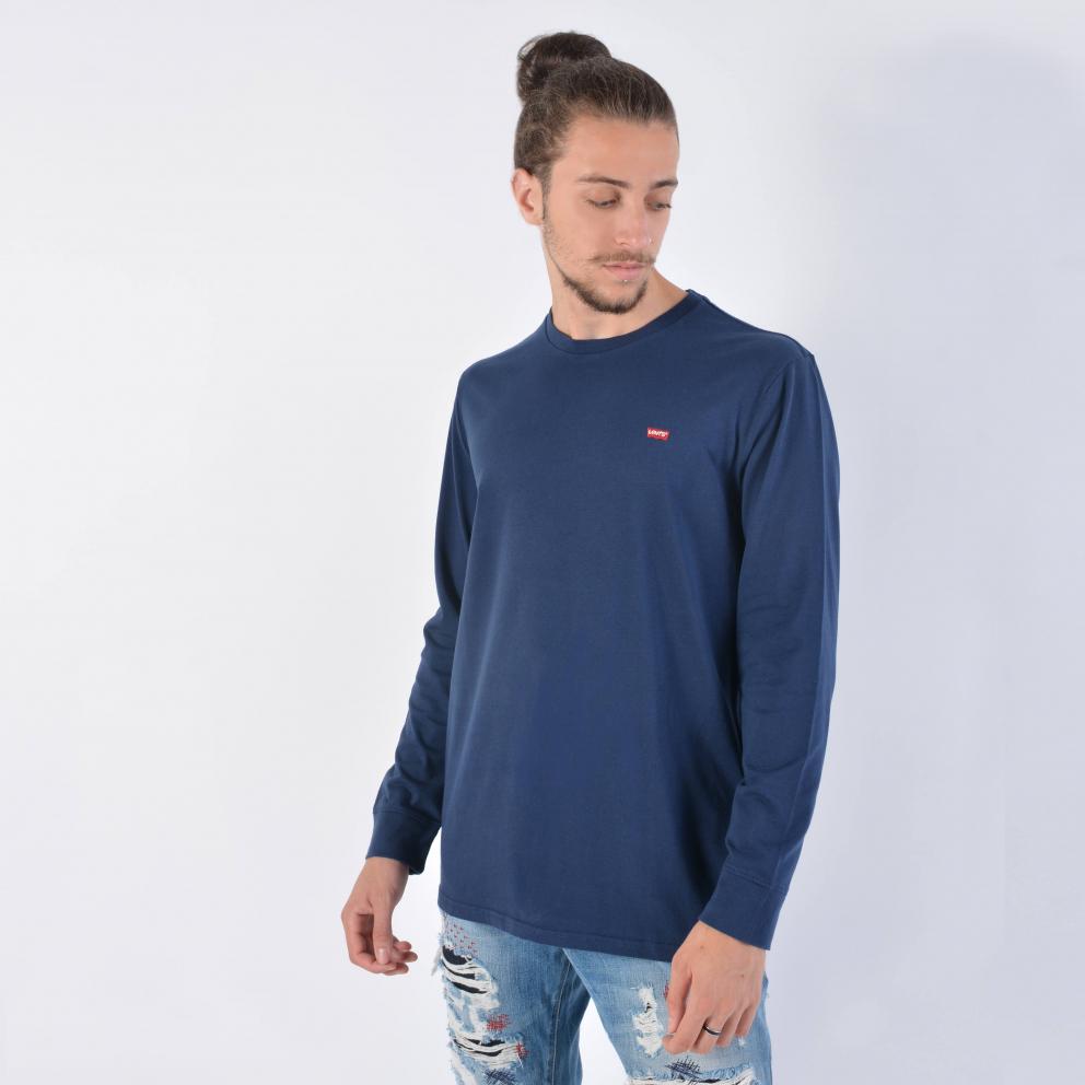 Levis Original Housemark Ανδρική Μπλούζα με Μακρύ Μανίκι