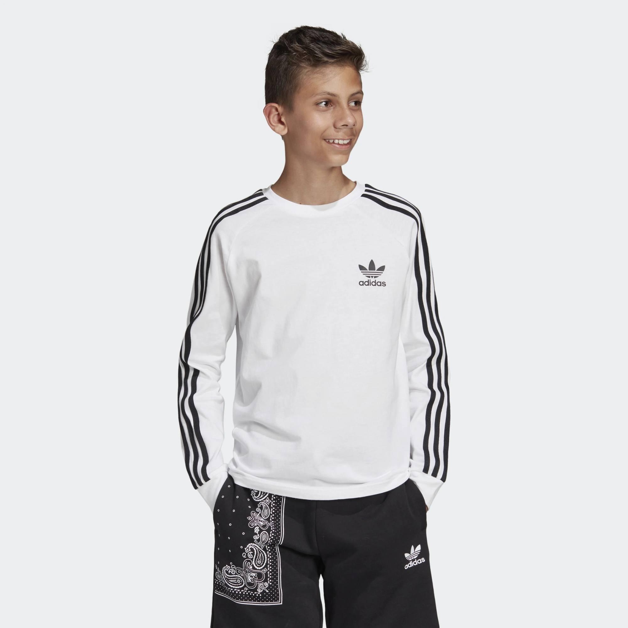 adidas Originals 3-Stripes Long Sleeve Tee (9000031588_1540)
