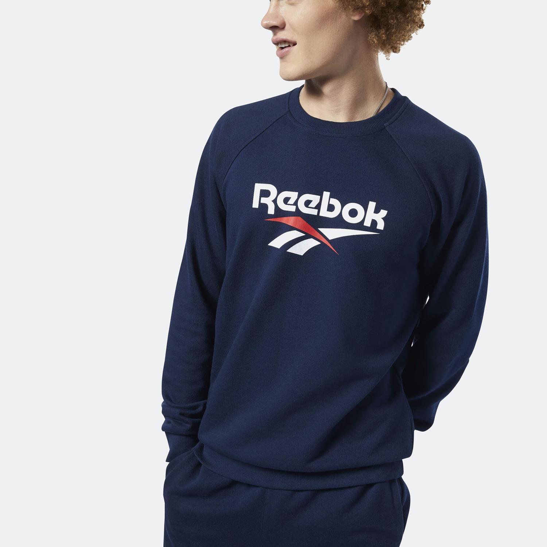 Reebok Classics Vector Crew Sweatshirt - Ανδρική Μπλούζα (9000032180_7646)