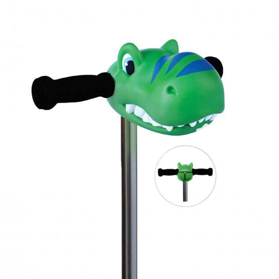 Micro ScootaHeadz Green Dino - Αξεσουάρ Για Πατίνι