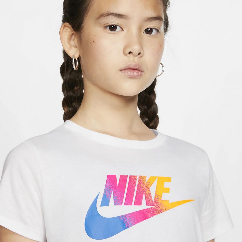 Nike Childrens G Nsw Tee Stmt Crop T-Shirt