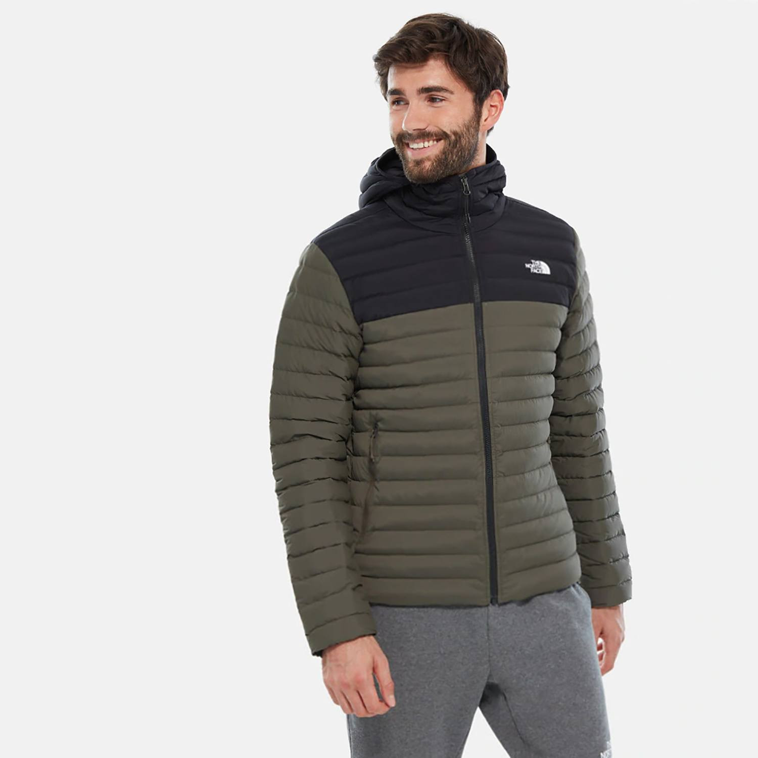 THE NORTH FACE M Strch Dwn Hdie (9000036731_36011)