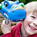 Micro ScootaHeadz Blue Dino