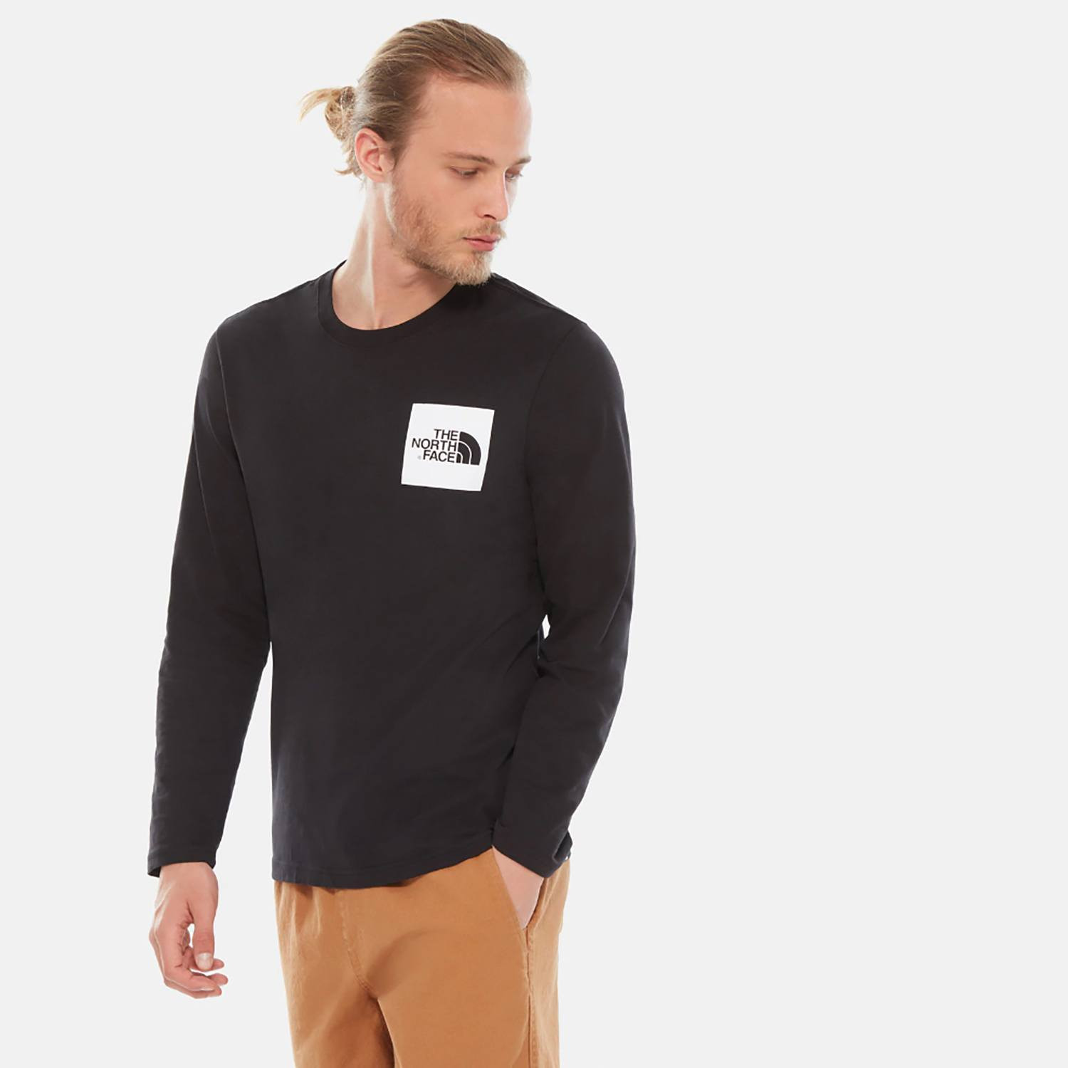 THE NORTH FACE M L/S FINE TEE (9000036591_23287)