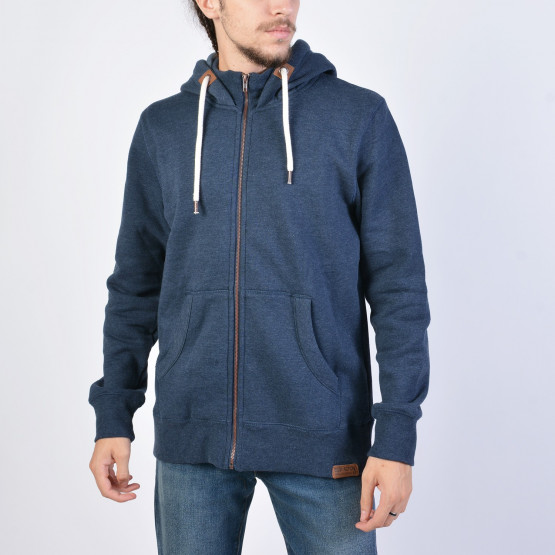 Body Action MEN HOODED SWEAT JACKET