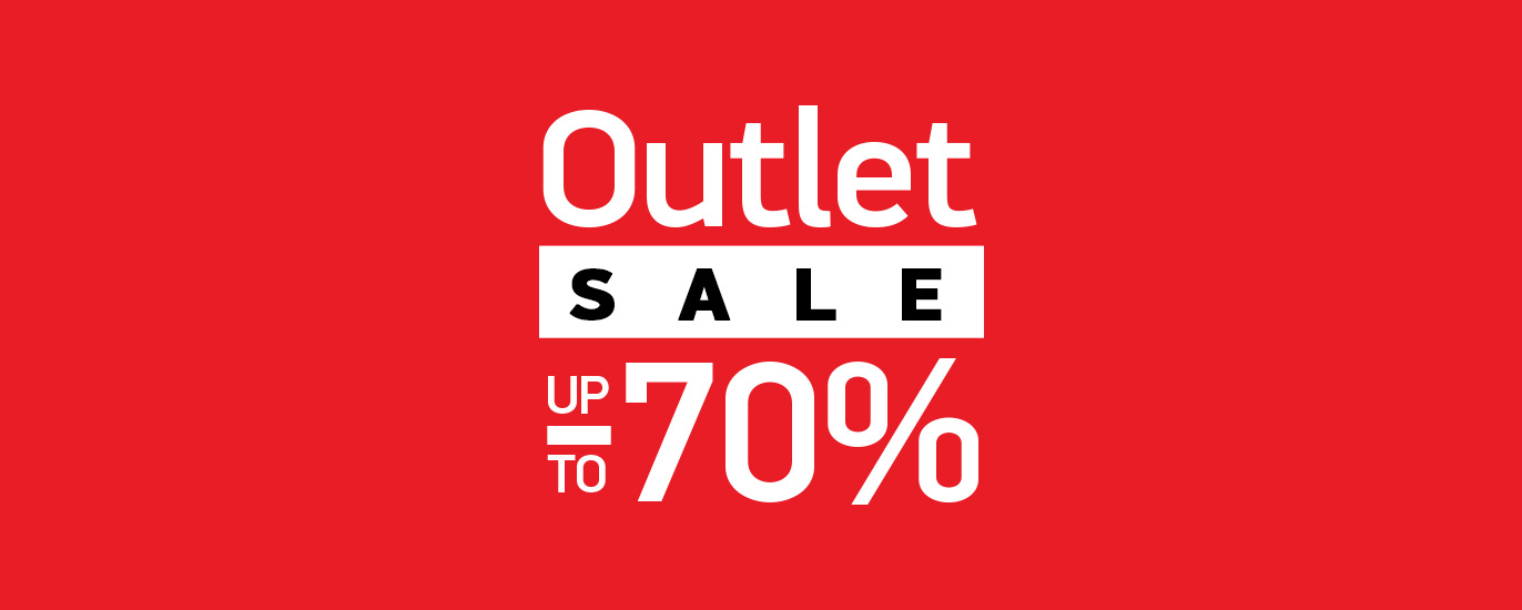 Outlet Sale up to -70%