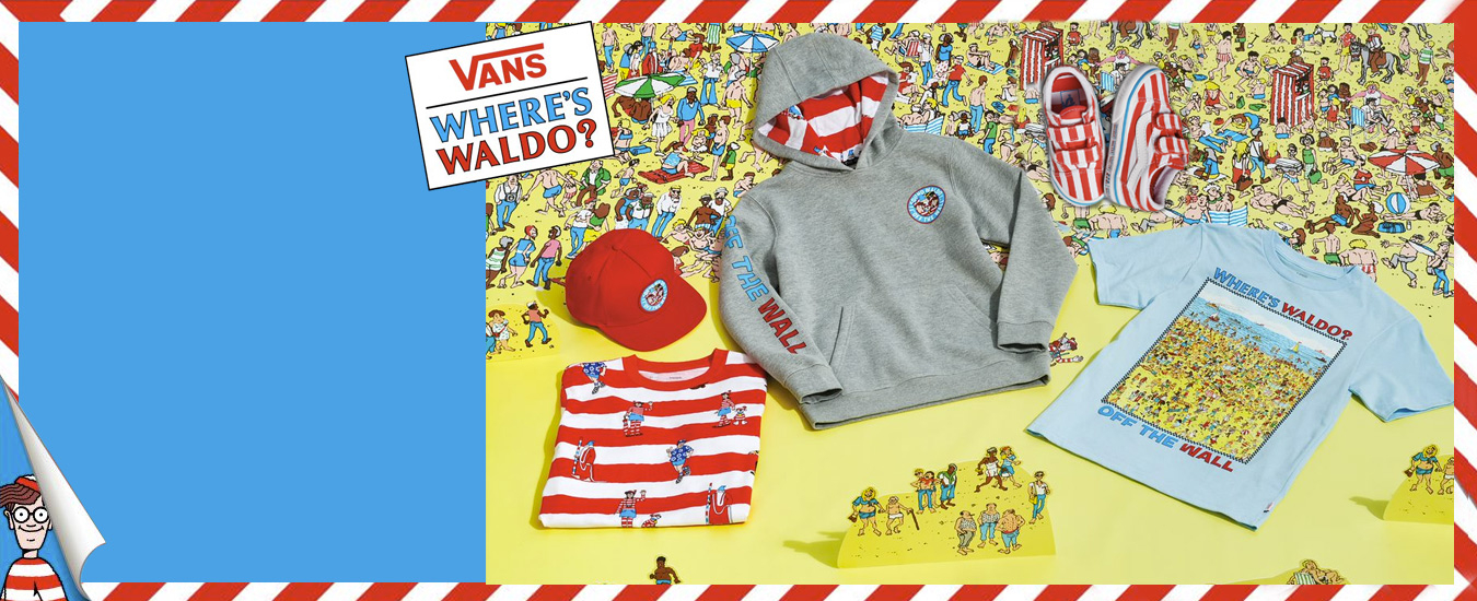 Vans Where is Waldo