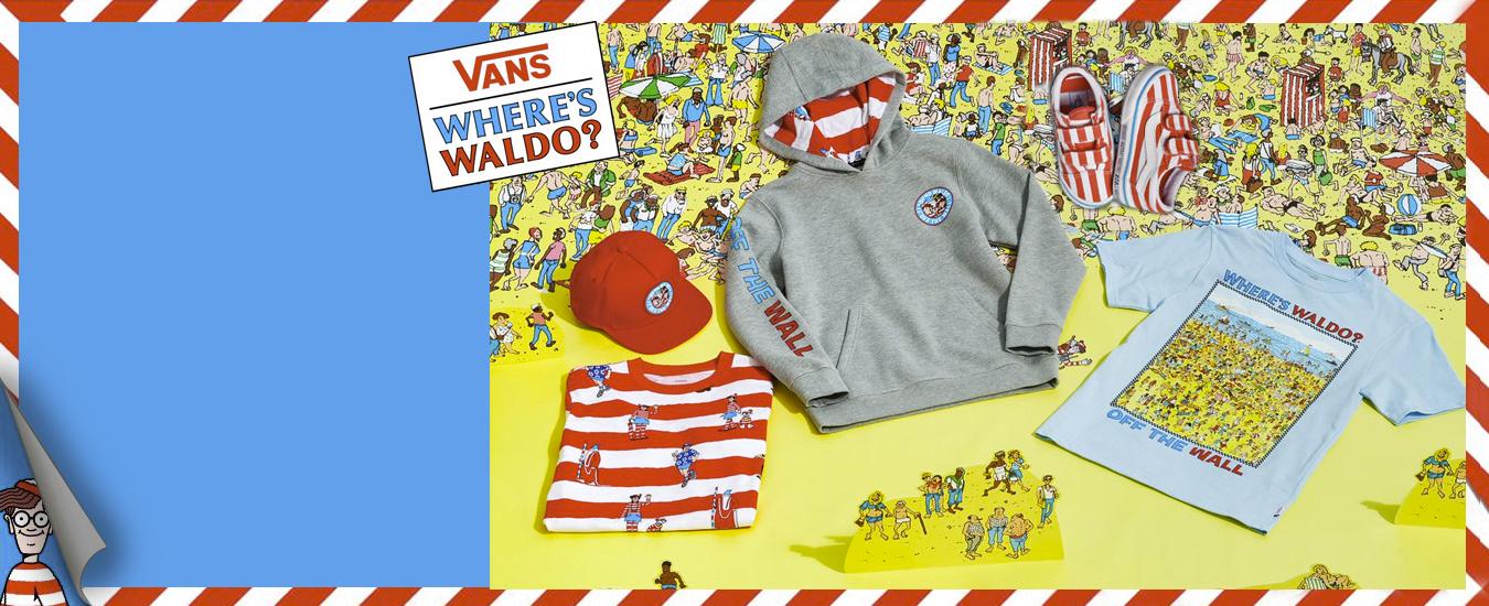 Vans Where is Waldo