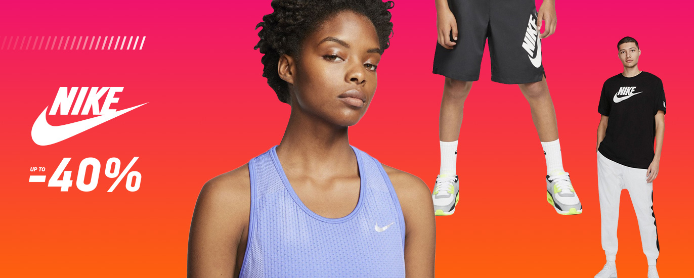 Nike up to -40%