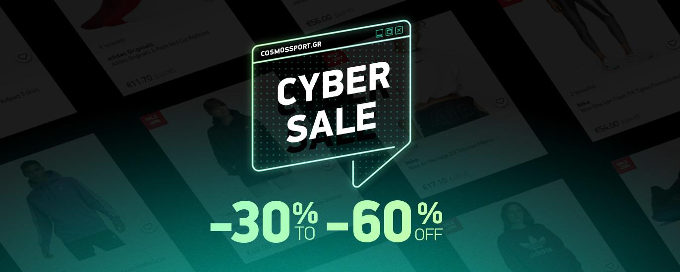 Cyber Week -30% to -60%